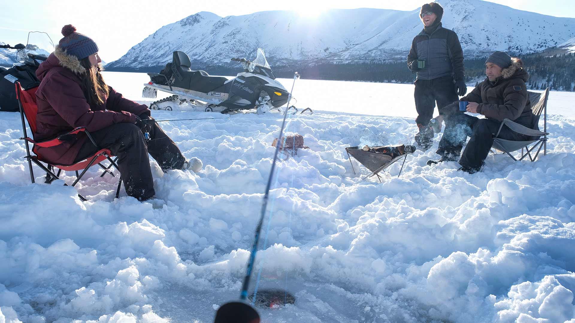 Ice fishing travel yukon yukon canada official for Ice fishing 2017
