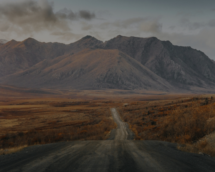 The road to the Arctic